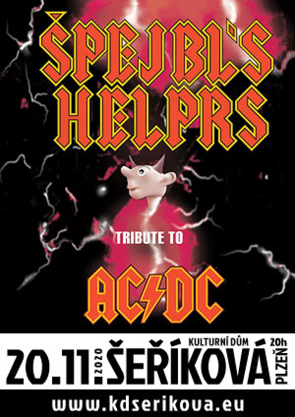 20. 11. 2020 / Špejbl's Helprs – Tribute to AC/DC